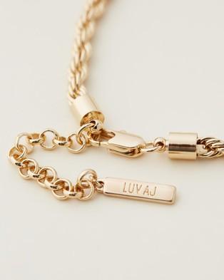 Luv Aj Luv Aj x Sivan Ayla   Ibiza Anklet - Jewellery (Gold)