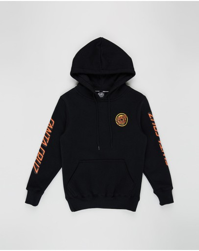 Santa Cruz - Roskopp Target Dot Pop Hoodie - Teens