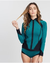 Aqua Blu Australia - Back To Basics Rash Guard