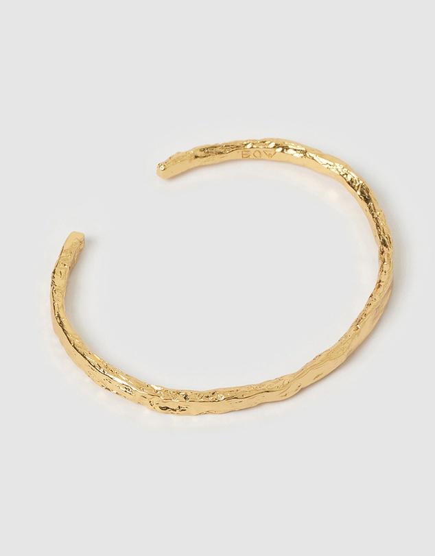 Women Helios Gold Cuff Bracelet