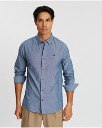 Scotch & Soda - Regular Fit Washed Chambray Shirt