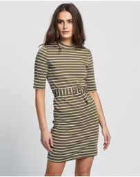 ONLY - Frida 3/4 Belted Sweater Dress