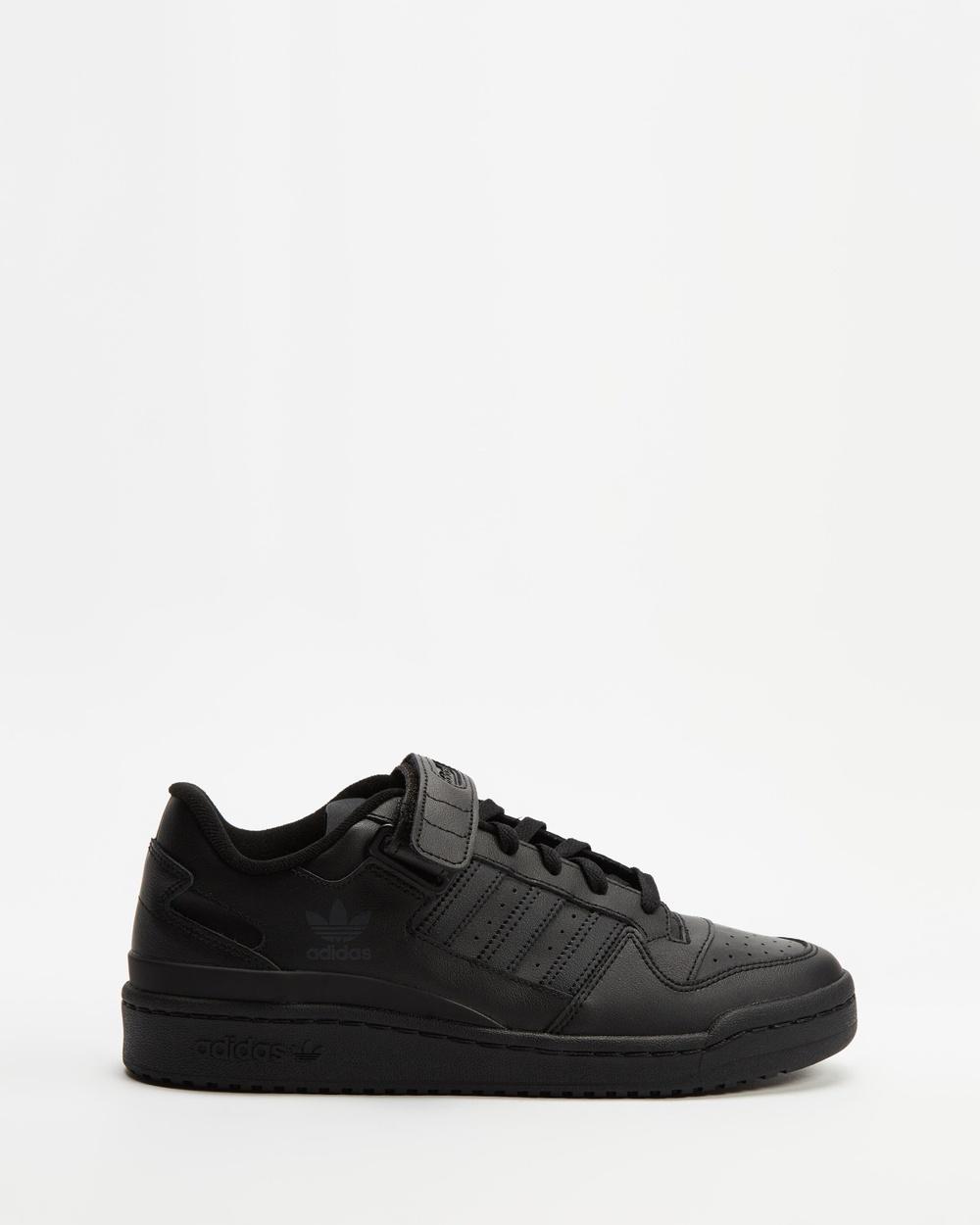 adidas Originals Forum Low Unisex Lifestyle Sneakers Black
