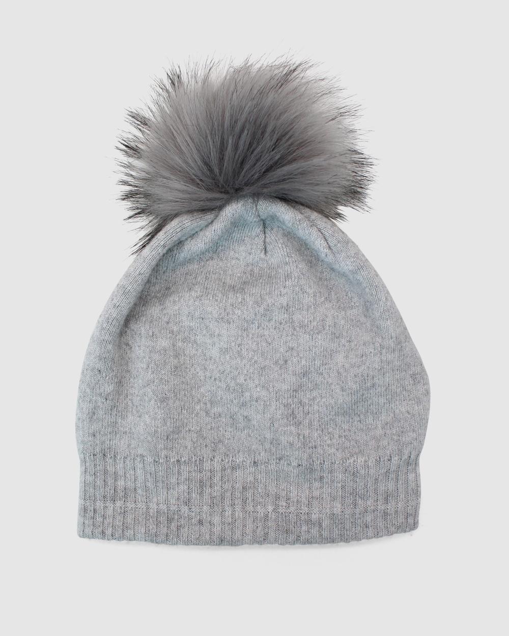 Morgan & Taylor Estella Beanie Headwear Grey