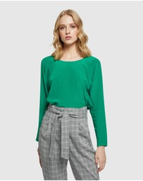 Oxford - Lara Silky Top