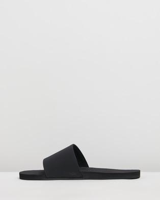 Indosole ESSENTLS Slides   Men's - Casual Shoes (Black)