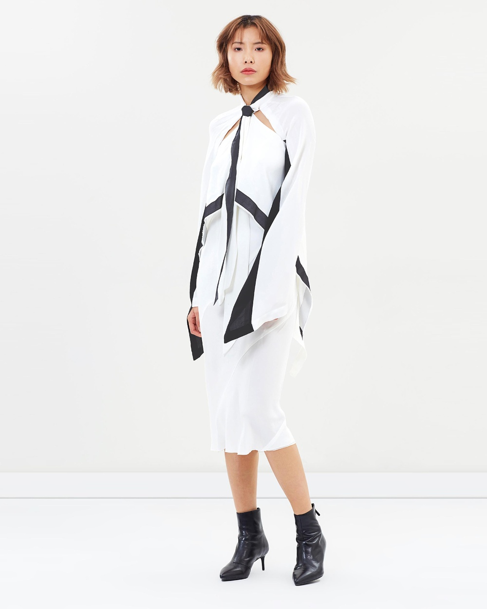 KITX Yin Yang Knot Dress Dresses White & Black Yin Yang Knot Dress