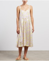 Lee Mathews - Thistle Printed Slip Dress