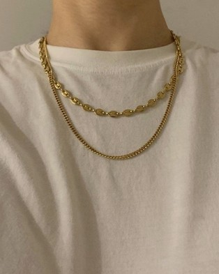 ALIX YANG Sage Chain - Jewellery (Gold)
