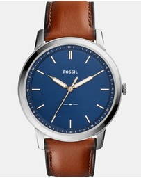 Fossil - The Minimalist Brown Analogue Watch