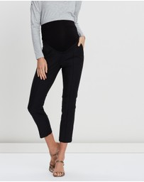 Seraphine - Cressida Over-Bump Cropped Trousers