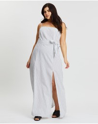 Atmos&Here Curvy - Chiara Split Midi Dress