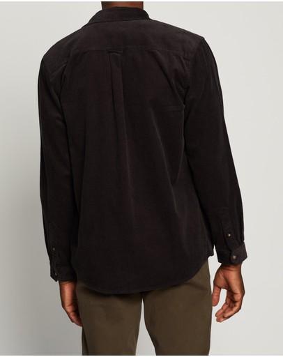 Rip Curl Saltwater Ls Shirt Washed Black