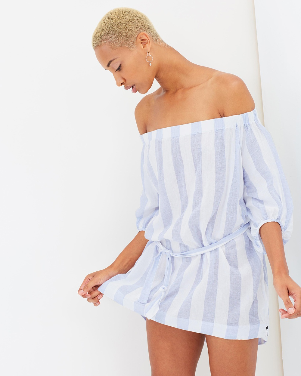 ONETEASPOON French Stripe Dress Dresses French Blue French Stripe Dress