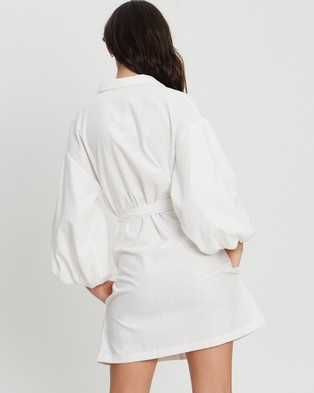 Tussah Alyssa Mini Dress - Dresses (White)
