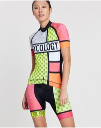 Cycology - Mondrian Cycling Bib Shorts