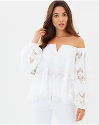 Ministry of Style - Barossa Off-the-Shoulder Top