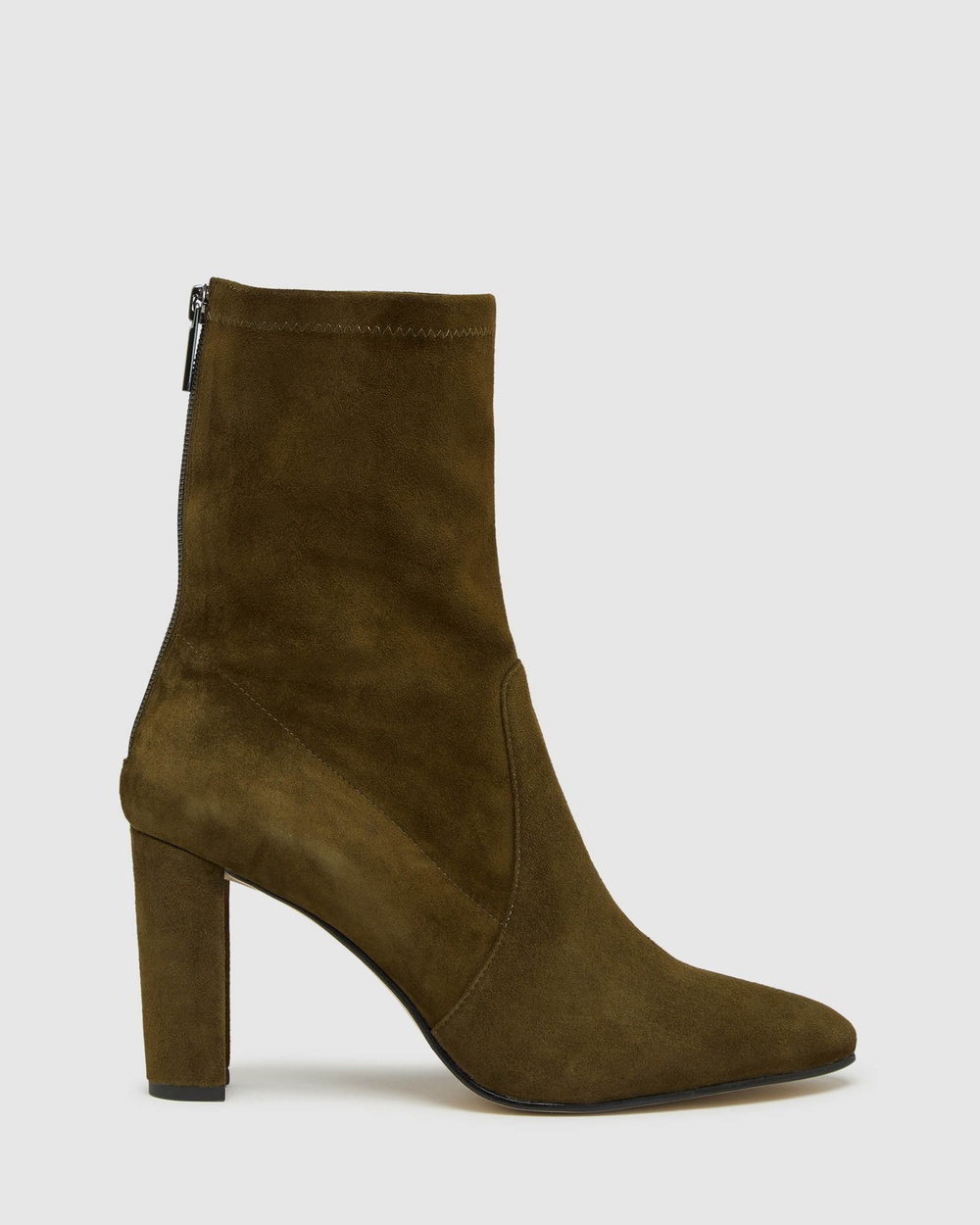 Oxford Imogen Suede Boot Boots Green