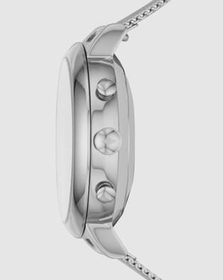 Fossil Jacqueline Hybrid Smartwatch Women's Digital Watch - Smart Watches (Silver-Tone)