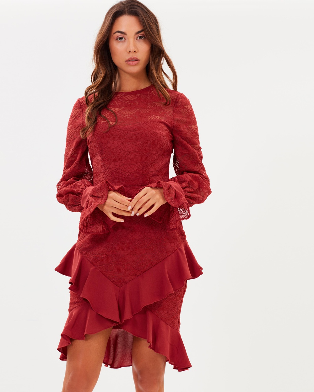 Cooper St Amore Long Sleeve Dress Dresses Rosewood Amore Long Sleeve Dress