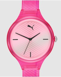 Puma - Contour Pink Analogue Watch