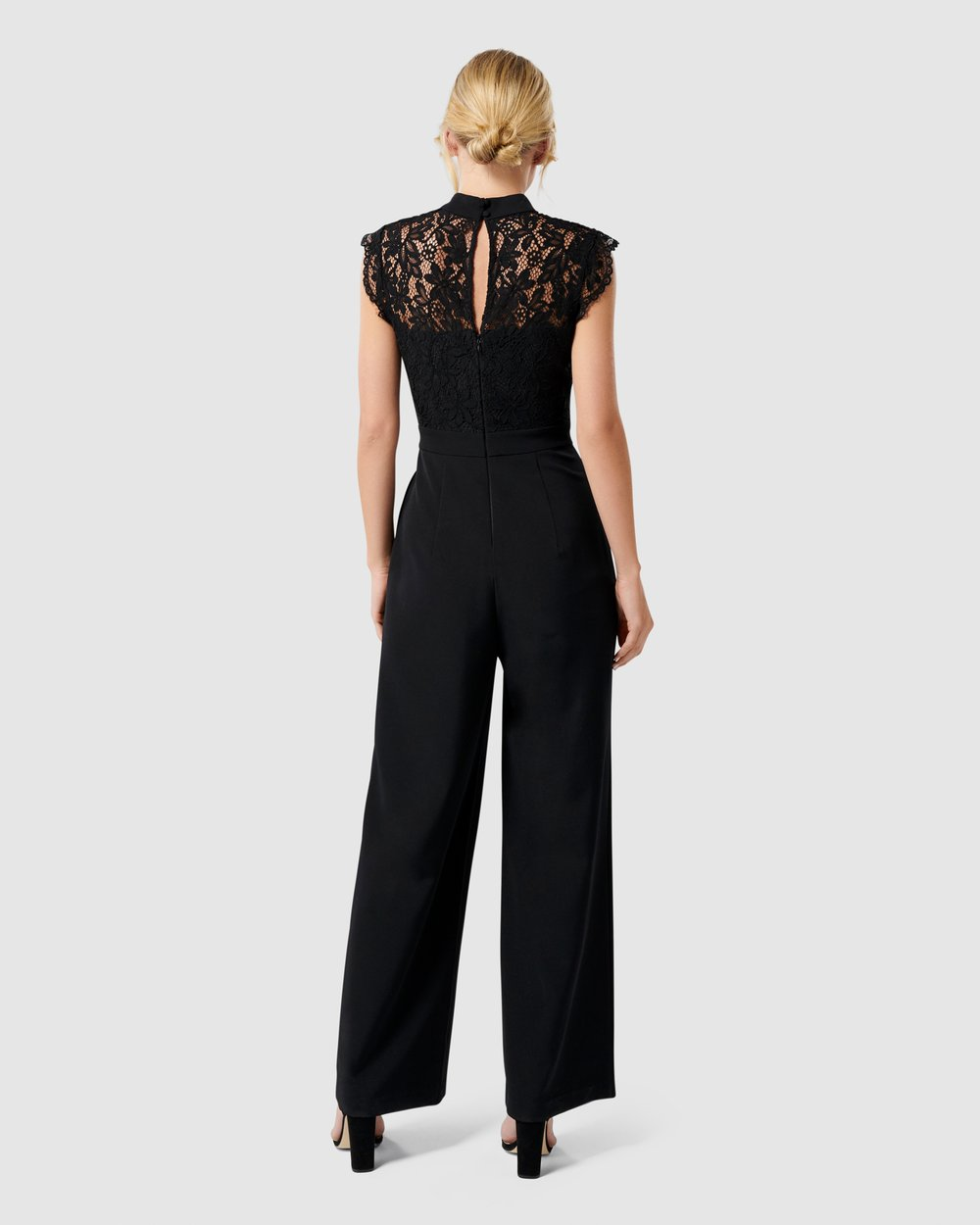 0620d0eb1b Louella Lace Bodice Jumpsuit by Forever New Online | THE ICONIC ...