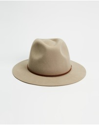 Brixton - THE ICONIC EXCLUSIVE Wesley Fedora