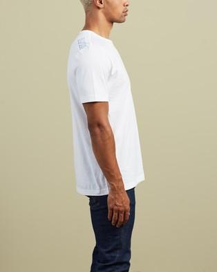 BOSS - Logo Crew Neck Tee T-Shirts & Singlets (Natural)