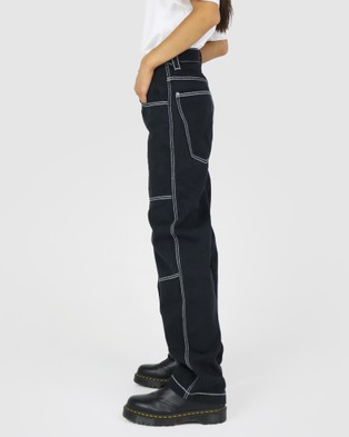 Dakota501 Carpenter Pant - Relaxed Jeans (Black)