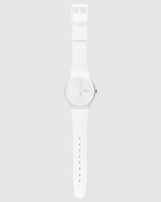 Swatch - WHITE REBEL Watches (White)