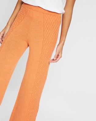 Mcintyre Isa Merino Lounge Pants - Pants (Orange)
