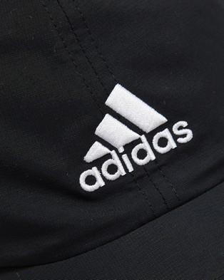 adidas Performance AEROREADY Badge of Sport Dad Cap - Headwear (Black & White)