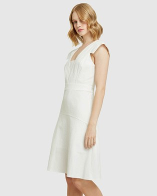 Oxford Stanmore Cotton Dress - Dresses (White)