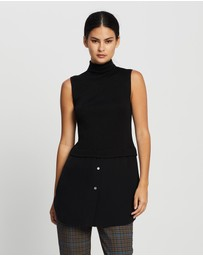 Theory - Sleeveless Combo Tunic