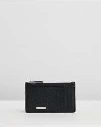 BOSS - Textured Leather Wallet