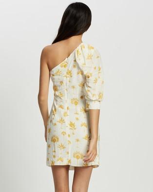Pasduchas Fiesta Asymmetrical Dress - Dresses (Ivory)