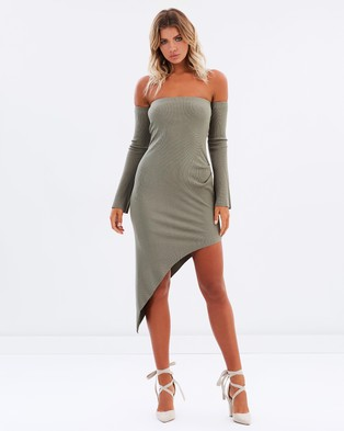 Bec & Bridge – Electra's Curse Dress – Bodycon Dresses (Fern)