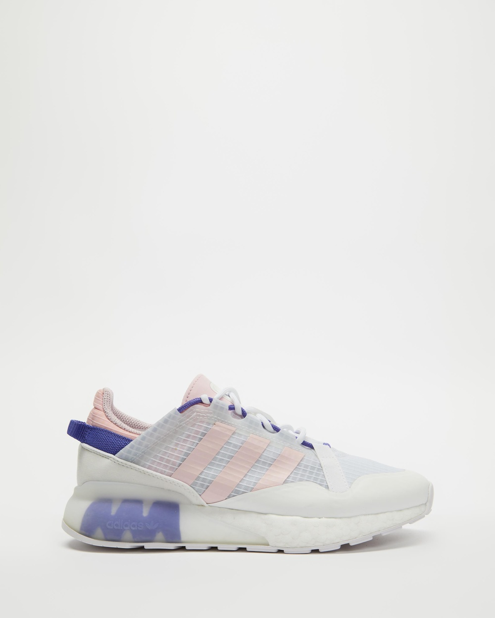 adidas Originals Zx 2K Boost Pure Women's Performance Shoes White, Clear Pink & Purple