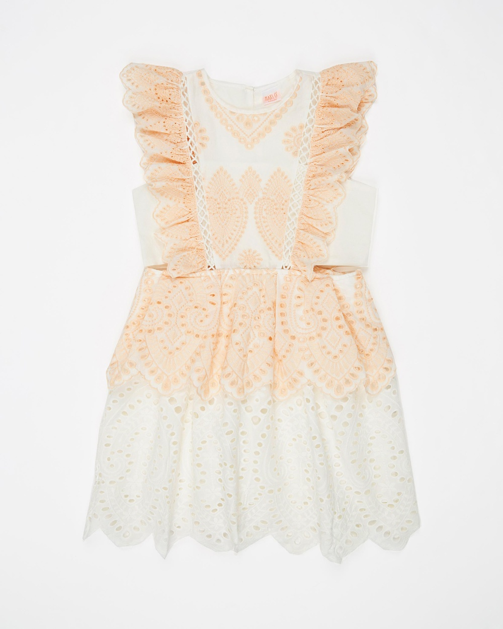 Marlo Blush Lucila Cotton Dress – Teen