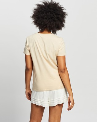 Staple the Label - Staple Tee - T-Shirts & Singlets (Sand) Staple Tee