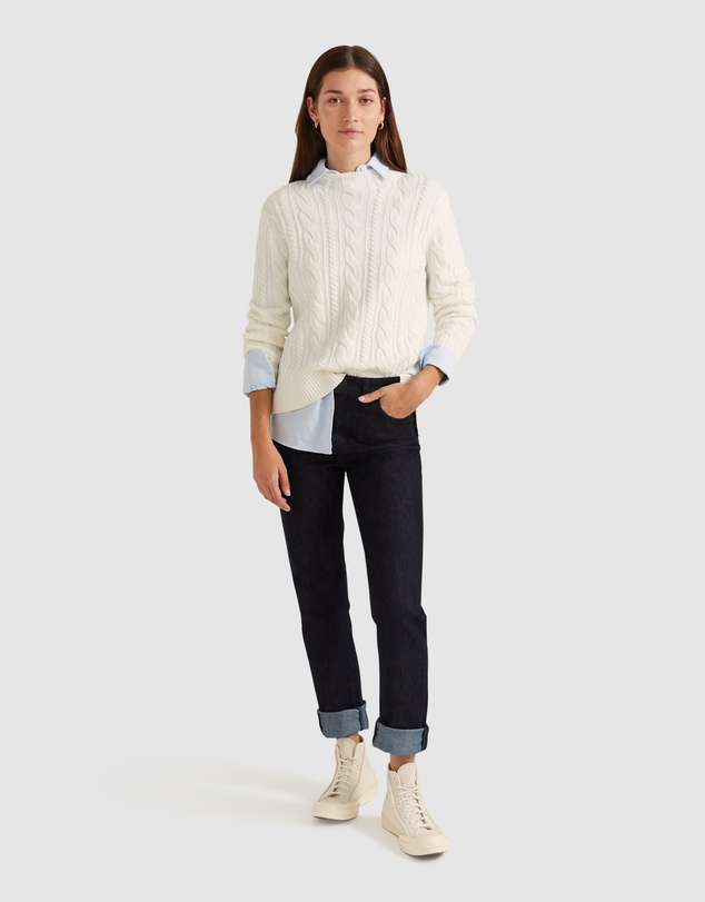 Women Rosemary Cable Knit