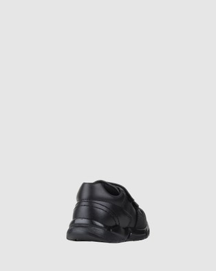 Pablosky School Self fastening Strap Shoes - Flats (Black)