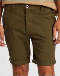 Topman - Stretch Skinny Chino Shorts
