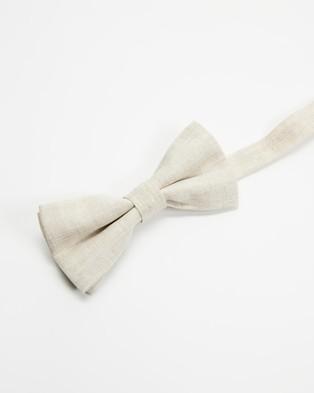 AERE - Bow Tie - Ties & Cufflinks (Oat) Bow Tie