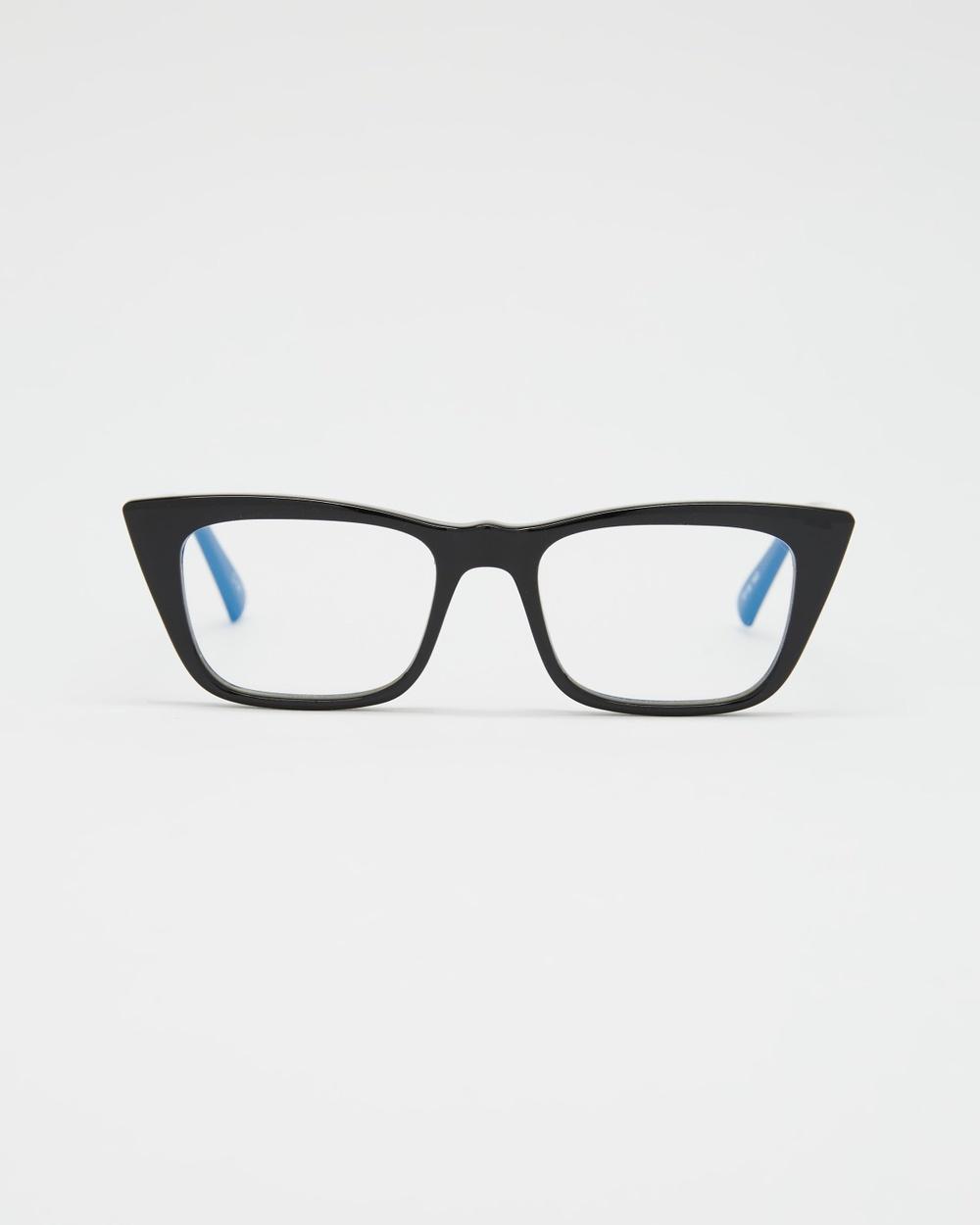 Le Specs I Feel Love Blue Light Optical Black