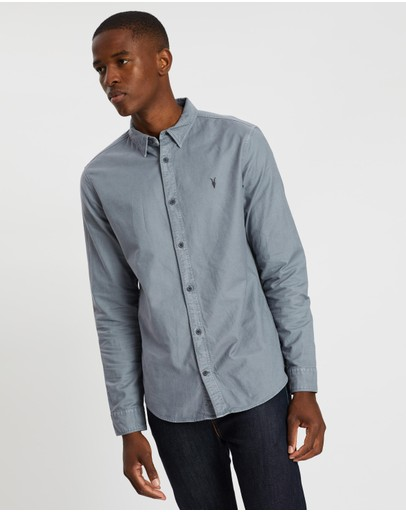 AllSaints - Hungtingdon Long Sleeve Shirt