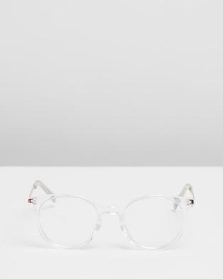 MINKPINK - Sky High - Sunglasses (Crystal Clear) Sky High
