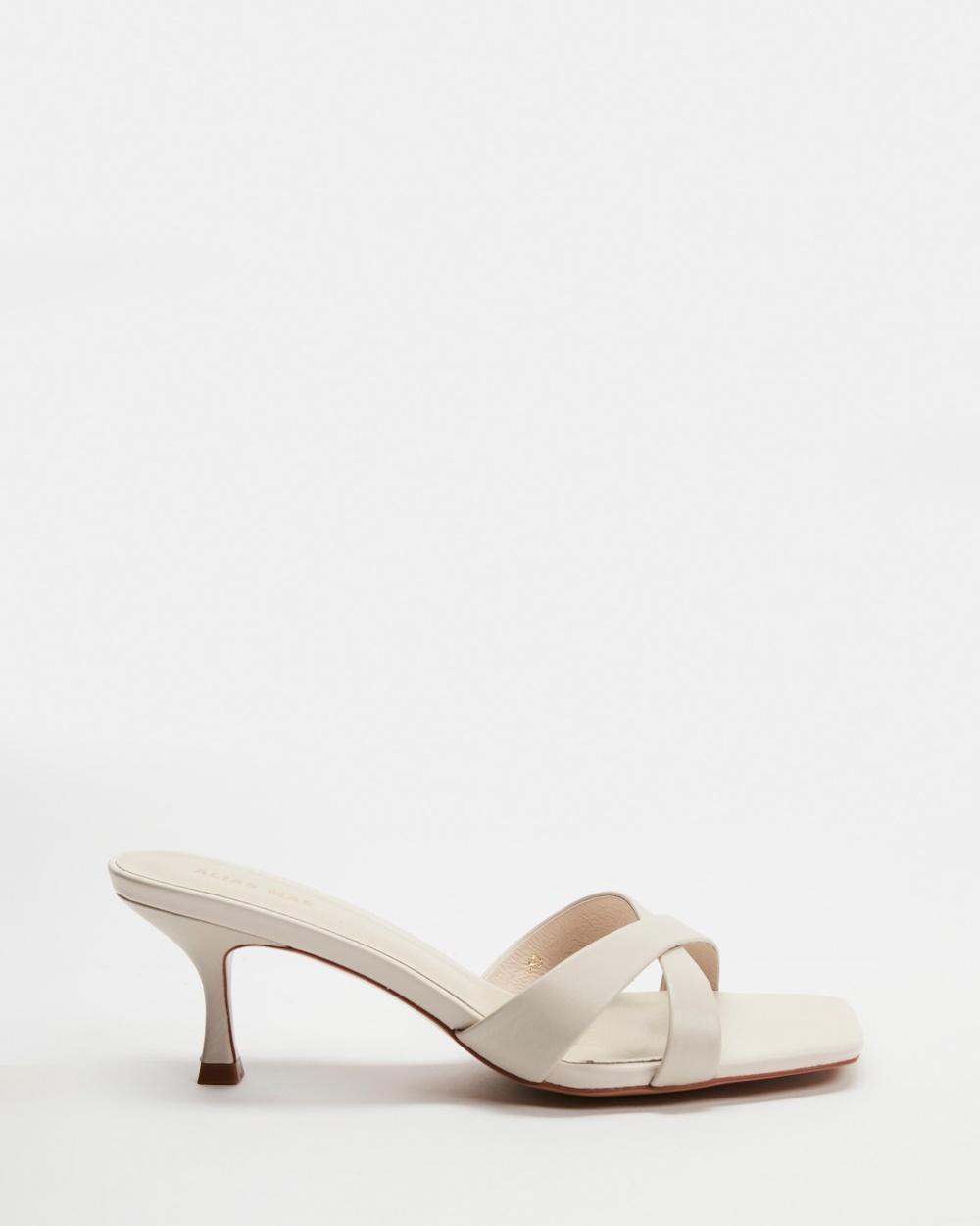 Alias Mae Banksy Mid-low heels Bone Leather