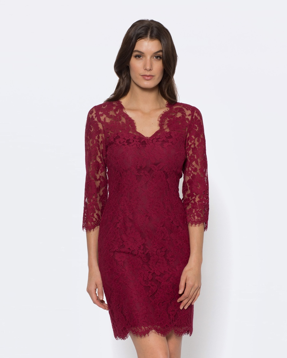 Alannah Hill The Little Lace Dress Dresses red The Little Lace Dress