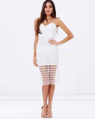 Ivory & Chain – Harmony Lace Dress – Dresses (White)